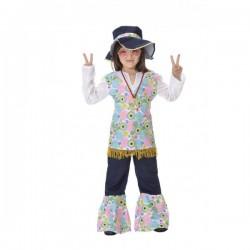 Disfraz de hippie para niña - Imagen 1
