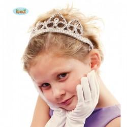Diadema de plata infantil - Imagen 1