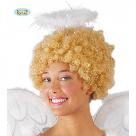 Diadema de ángel con plumas - Imagen 1