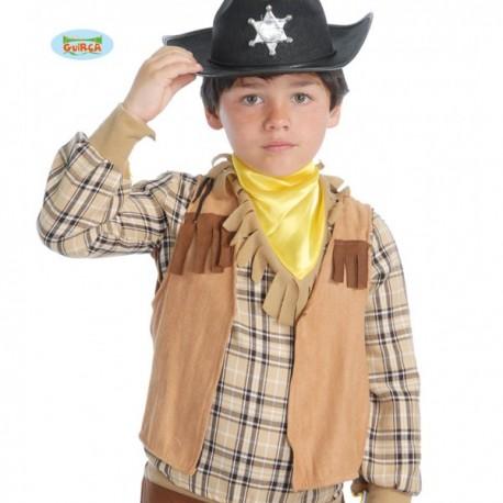 Chaleco de vaquero infantil - Imagen 1
