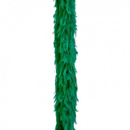 Boa de pluma verde - Imagen 1