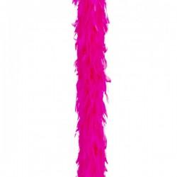 Boa de pluma fucsia - Imagen 1