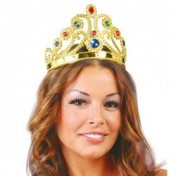 Corona de reina de oro - Imagen 1