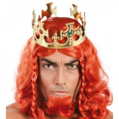 Corona de rey de oro - Imagen 1