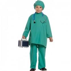 Disfraz de médico para niño - Imagen 1