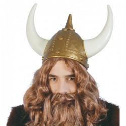 Casco de vikingo valiente - Imagen 1