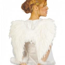 Alas de ángel con plumas blancas - Imagen 1