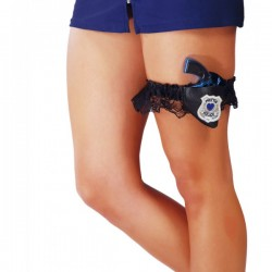 Liga con pistola de policía - Imagen 1