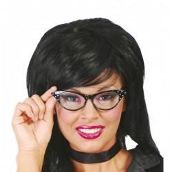 Gafas de los 60 negras - Imagen 1