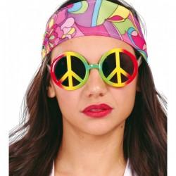 Gafas hippie multicolor - Imagen 1