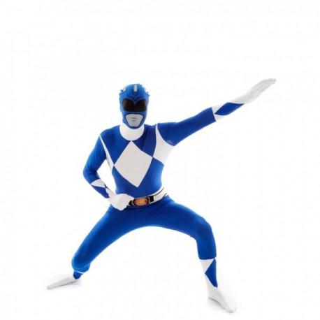 Disfraz de Power Ranger Azul Morphsuit - Imagen 1