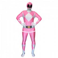 Disfraz de Power Ranger Rosa Morphsuit - Imagen 1