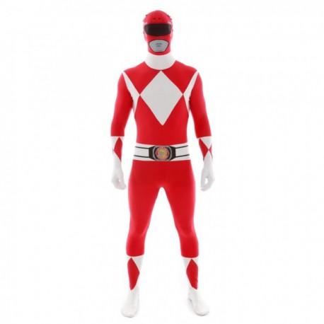 Disfraz de Power Ranger Rojo Morphsuit - Imagen 1