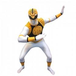 Disfraz de Power Ranger Blanco Morphsuit - Imagen 1