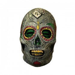 Máscara de muerte mexicana - Imagen 1
