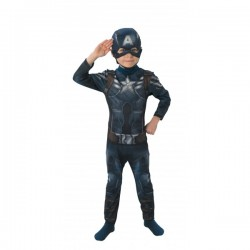 Disfraz de Capitán América Soldado de Invierno para niño - Imagen 1