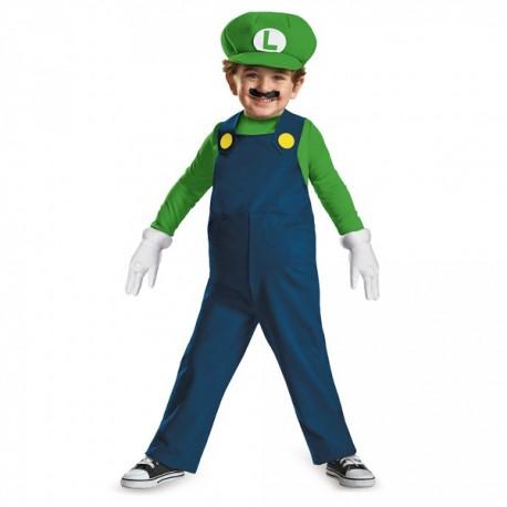Disfraz de mini Luigi prestige para niño - Imagen 1