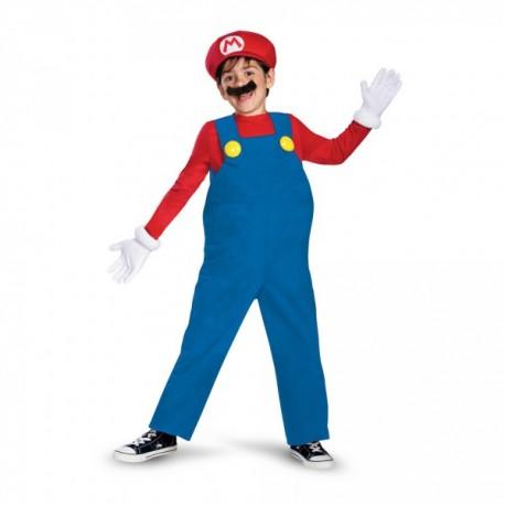 Disfraz de Mario Bros prestige para niño - Imagen 1