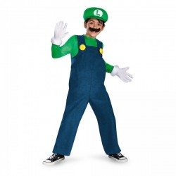 Disfraz de Luigi prestige para niño - Imagen 1