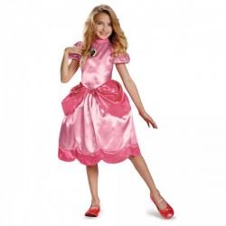 Disfraz de Princesa Peach classic para niña - Imagen 1