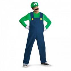 Disfraz de Luigi prestige para adulto - Imagen 1