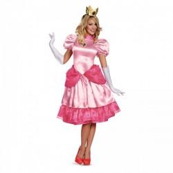 Disfraz de Princesa Peach prestige para mujer - Imagen 1