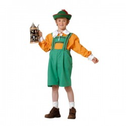 Disfraz de tirolés niño - Imagen 1