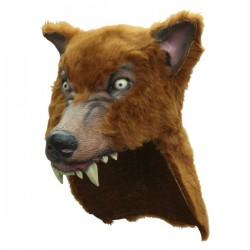 Casco de lobo marrón - Imagen 1