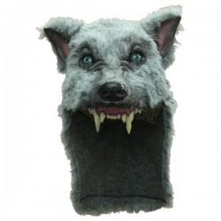 Casco de lobo gris - Imagen 1