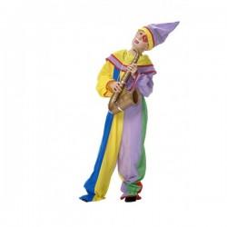 Disfraz de payaso arlequín para niño - Imagen 1