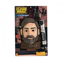 Kit Obi-Wan kenobi The Clone Wars para niño - Imagen 1