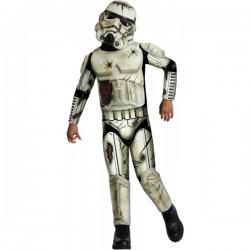 Disfraz de Stormtrooper zombie para niño - Imagen 1