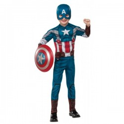Disfraz de Capitán América Soldado de Invierno classic retro para niño - Imagen 1