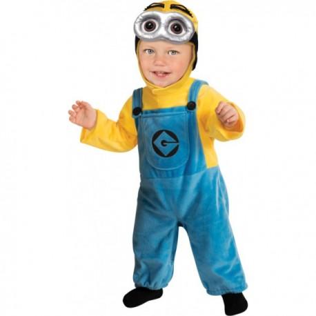 Disfraz de Minion Dave Gru mi villano favorito para bebé - Imagen 1