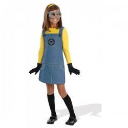 Disfraz de Minion Dave Gru mi villano favorito para niña - Imagen 1