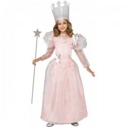 Disfraz de Glinda Bruja Buena El Mago de Oz para niña - Imagen 1
