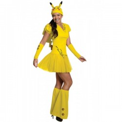 Disfraz de Pikachu Pokemon para mujer - Imagen 1