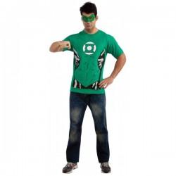Kit disfraz Linterna Verde para hombre - Imagen 1