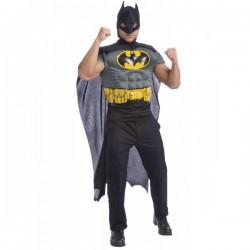 Kit disfraz Batman musculoso para hombre - Imagen 1