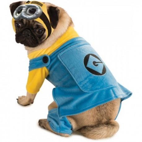 Disfraz de Minion para perro - Imagen 1