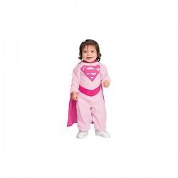 Disfraz de Pink Supergirl para bebé - Imagen 1