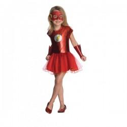 Disfraz de Flash DC Comics tutú para niña - Imagen 1