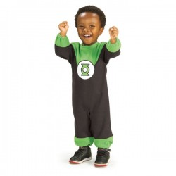 Disfraz de Linterna Verde para bebé - Imagen 1