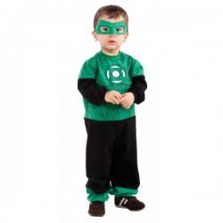 Disfraz de Hal Jordan Linterna Verde para bebé - Imagen 1