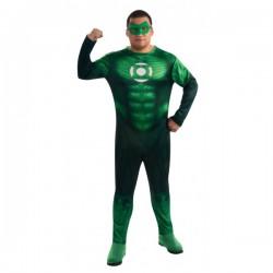 Disfraz de Linterna Verde para hombre talla grande - Imagen 1