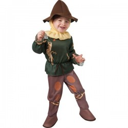 Disfraz de El Espantapájaros El Mago de Oz para bebé - Imagen 1