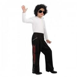 Pantalón de Michael Jackson Bad para niño - Imagen 1