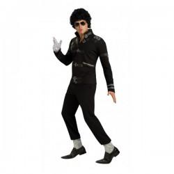 Chaqueta de Michael Jackson Bad para adulto - Imagen 1