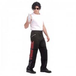 Pantalón de Michael Jackson Bad para adulto - Imagen 1