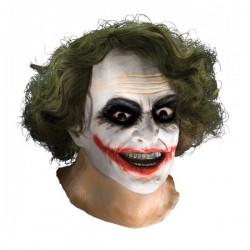 Máscara de Joker TDK con pelo de látex para adulto - Imagen 1